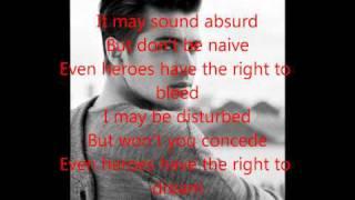 Joe McElderry - Superman Karaoke/Instrumental