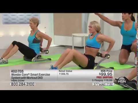Wonder Core Smart Exercise System | HSN