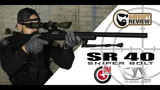 [ FR ] SNIPER SR 40 CLASSIC ARMY # DM DIFFUSION # AIRSOFT REVIEW