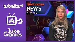 Jukegames News English 03/31/2016 | WORLD OF TANKS| ELITE: DANGEROUS | LITTLEBIGPLANET