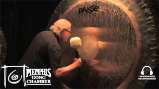 """80"""" Paiste Symphonic Gong - Played by Michael Bettine at Memphis Gong Chamber"""