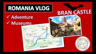 VLOG: Come with us to Romania! || Sightseeing, Healthy Food and Vampires