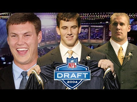 Download Eli Almost a Brown, Big Ben Falling, & Rivers Traded All Part of Dramatic 2004 Draft Day | NFL Films Mp4 HD Video and MP3