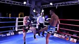 Проф бои по кикбоксингу К-1 (Паденко М. vs Юнал Д.) 07.09.2014