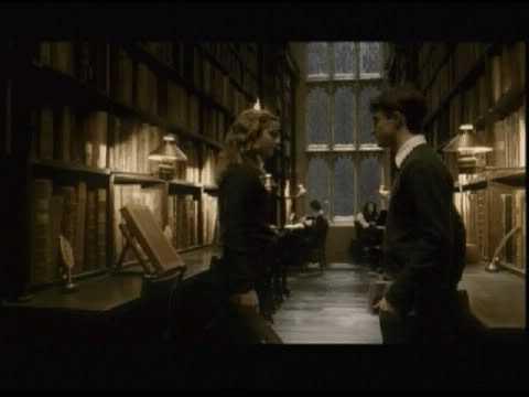 Harry Potter i Hermiona vole knjižnicu