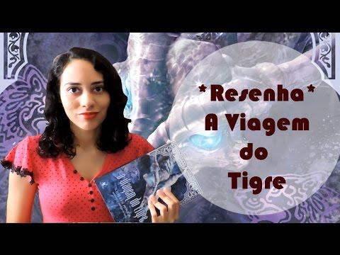 TRACINHAS: A Viagem do Tigre, por Lídia Rayanne