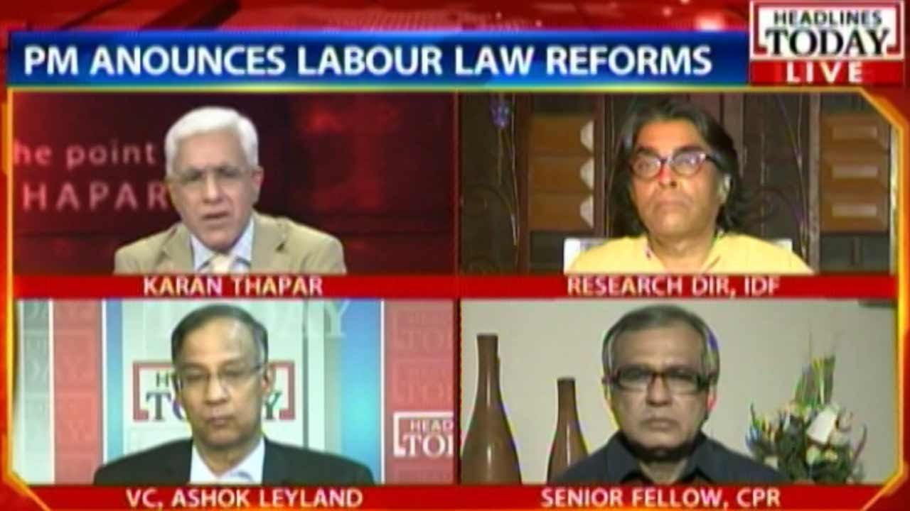 To The Point - To The Point: Will labour law reforms help manufacturing?