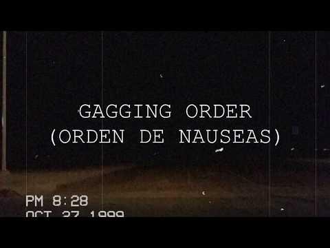 Radiohead-Gagging Order Sub. Español
