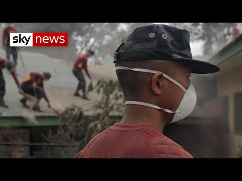 More than 40,000 people evacuated from volcano danger zone