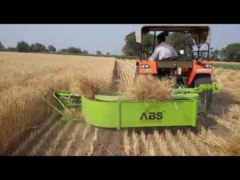 Tractor Reaper Binder Machine