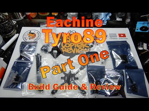 Eachine Tyro89 Build Guide