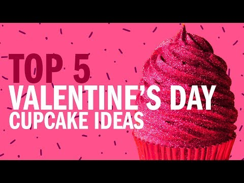 TOP 5 VALENTINES DAY CUPCAKES! – The Scran Line