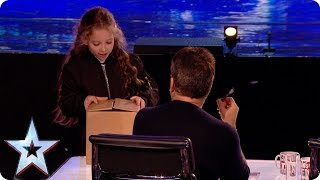 Preview: Issy Simpson wows with her magic act! | Britain's Got Talent 2017