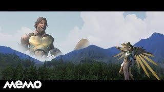 J. McCree - High Enough ft. Angela Ziegler [Overwatch SFM]