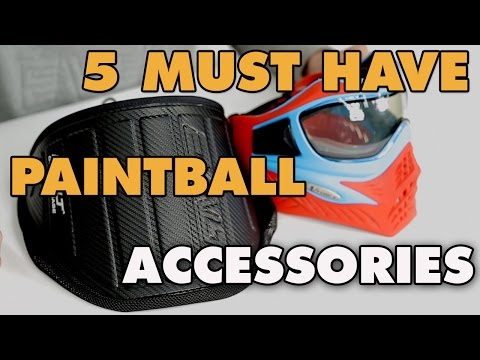 5 Must have paintball accessories | Defcon Paintball Gear