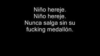 Divididos - Niño Hereje (Con Letra)