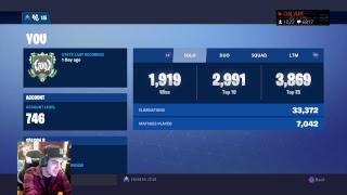 TOP CONSOLE PLAYER // 2400+ WINS // FORTNITE BATTLE ROYALE