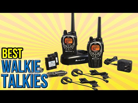 10 Best Walkie Talkies 2016
