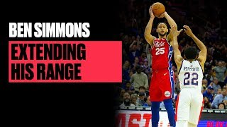 Every Ben Simmons Made 3-Pointer (So Far) And Long-Range Jumper