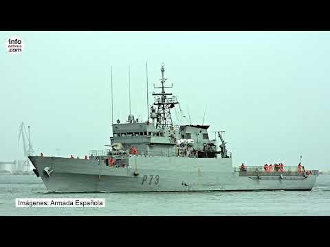 El patrullero Vigía inicia un despliegue de cuatro meses en el golfo de Guinea