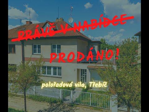 Video z << Prodej rodinného domu, 552 m2, Třebíč >>