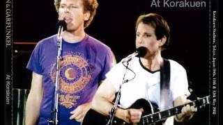 Simon and Garfunkel Bright Eyes Live 1982