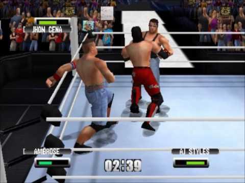 AJ Styles VS John Cena/ WWE World Heavyweight Championchip