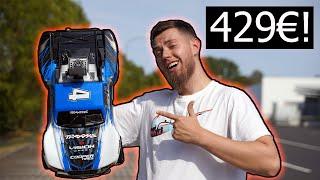 429€ RIESEN RC AUTO | 100 Km/h schnell - TRAXXAS slash 4x4 VXL (Unboxing und Test fahren)
