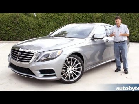 2014 Mercedes-Benz S550 Test Drive and Video Review