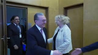 Министр иностранных дел встретился с Генеральным директором женевского офиса ООН