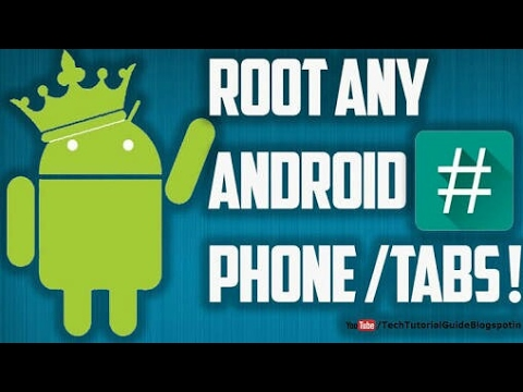 HOW TO ROOT ANY ANDROID MOBILES WITHOUT PC NEW 2017