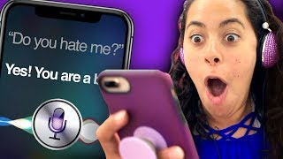 NEVER ask Siri these questions! (Mystey Gaming)