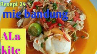 Resepi Mie Bandung,ala Kite Guys