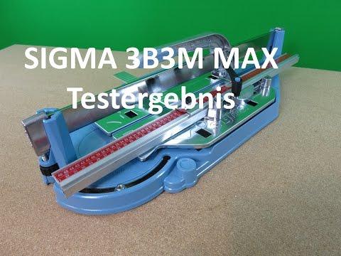 Sigma Fliesenschneider 3B3M Max - Gold Selection