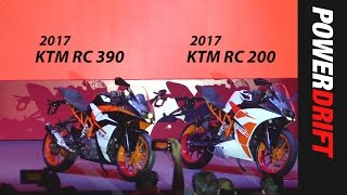 What no one will tell you about the 2017 KTM RC 200 & RC 390 : PowerDrift