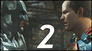 Injustice 2 Walkthrough Part 2 - Batman vs Superman