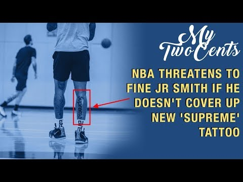 NBA Player To Be Fined Every Game Because of This Tattoo…