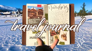 How I travel journal