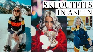 WHAT I WORE SKIING IN ASPEN   EAT, SKI AND CHAT WITH US