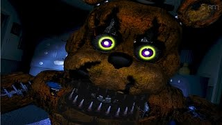 Scary Stuff Happens! RAH! | FIVE NIGHTS AT FREDDY'S 4 Night #1
