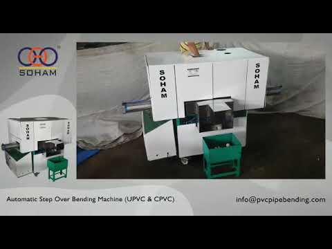 Step Over PVC Pipe Bending Machine
