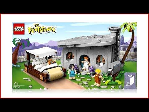 LEGO IDEAS 21316 The Flintstones Construction Toy - UNBOXING