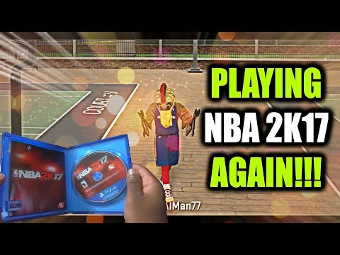 Playing nba 2k17 again using my 97 ovr lockdown defender the cheese