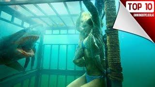 Las 10 Mejores Peliculas De Tiburones
