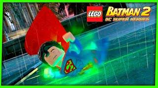 LEGO Batman 2 DC Super Heroes #12 O SACRIFÍCIO DO SUPERMAN Gameplay Português PC