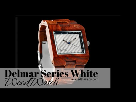 [30] Jord Wooden Watch Review: Delmar Series – White