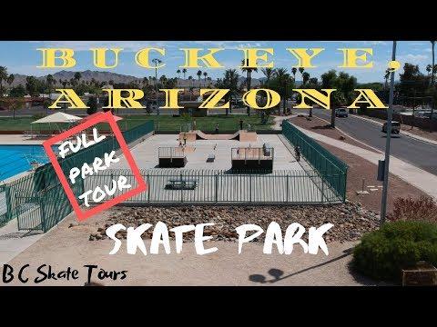 Buckeye, Arizona Skate Park Full Skate Park Tour (Phoenix, Arizona)
