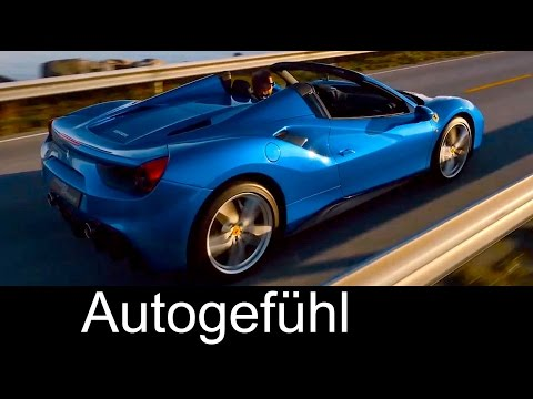 New Ferrari 488 Spider V8 premiere trailer - Autogefühl