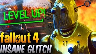 Fallout 4 Insane Fastest EXP Glitch UPDATED Tutorial - 10-20k XP Per Minute! (After Patch 1.4 & 1.5)