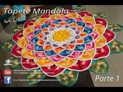Tapete Redondo Mandala